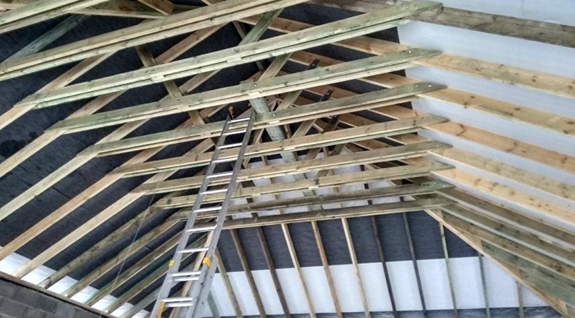 Строительство и ремонт крыши частного дома в Вильнюсе